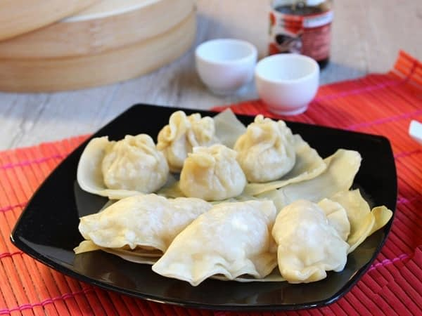 Steamed Chinese dumplings Recipes