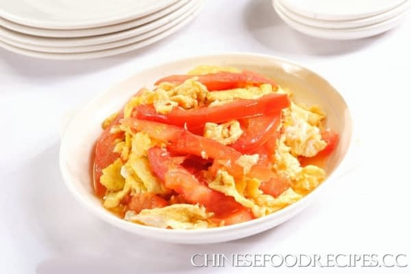 Scrambled eggs with tomatoes recipes