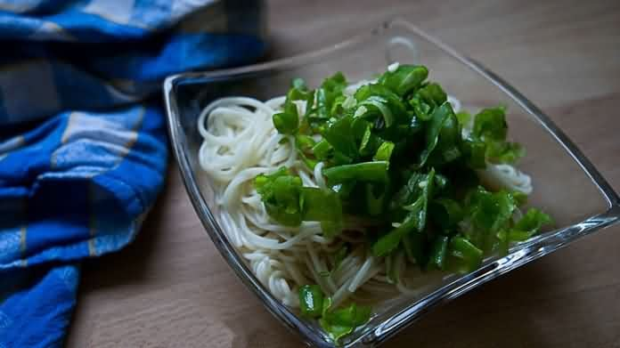 Scallion Oil Noodles(葱油面)