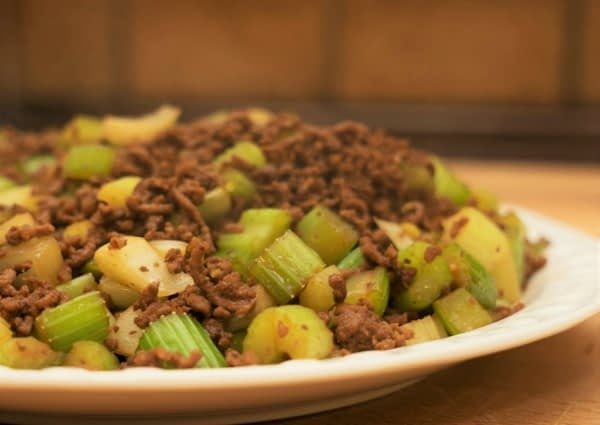 Chinese Celery Beef Stir Fry