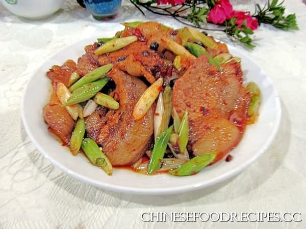 Twice cooked pork recipe