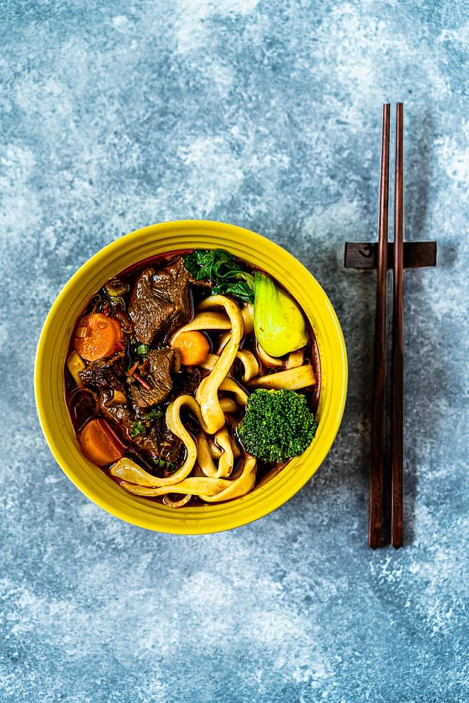 Beef Soup With Noodles