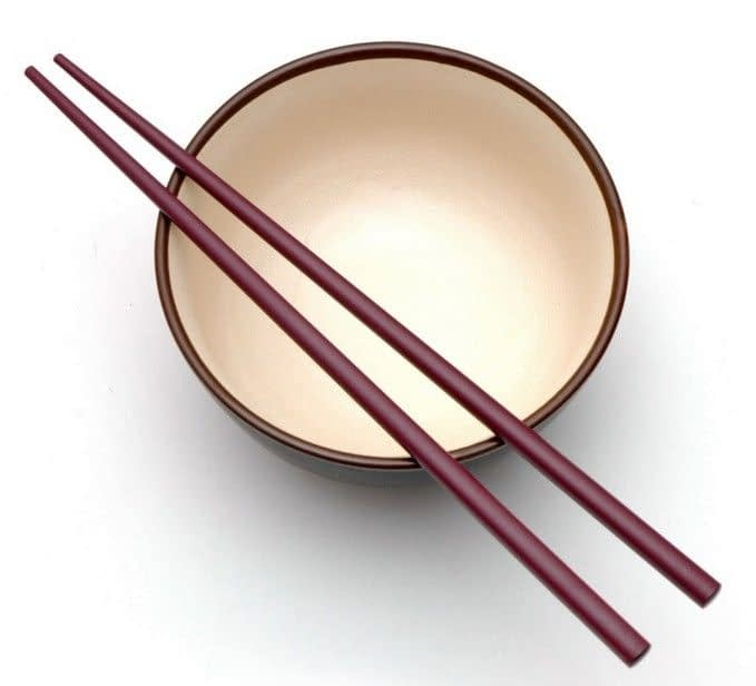 How to eat with chopsticks?