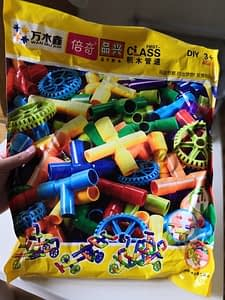 Pipe Building Blocks Toy photo review