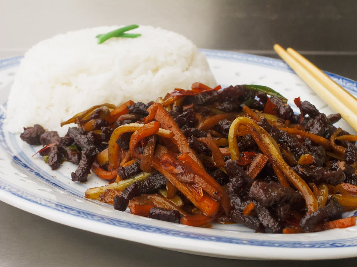 Sichuan Dry-Fried Beef Slivers Recipes