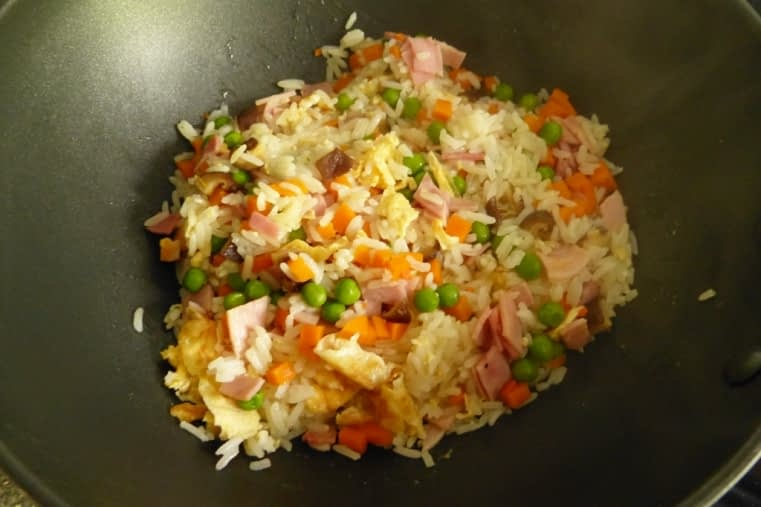 Chinese Yangzhou fried rice